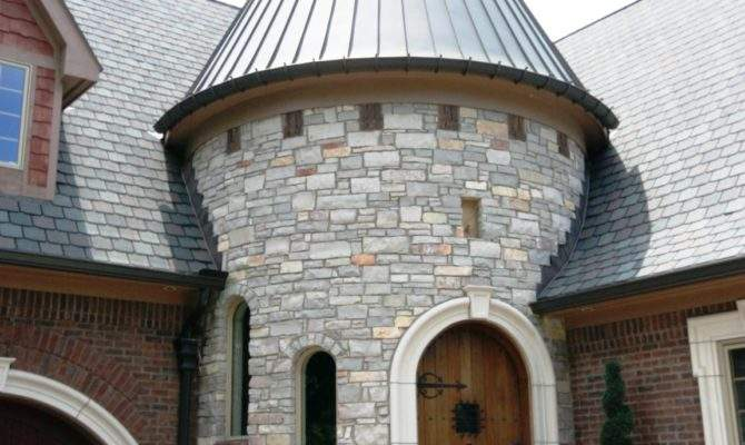 Luxury House Plans Turrets
