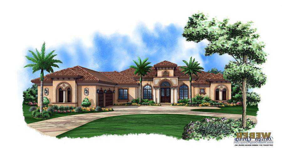 Luxury Mediterranean House Plans Photos