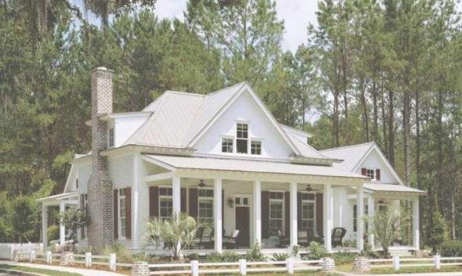 Luxury Southern House Plans Plantation Home Elevator