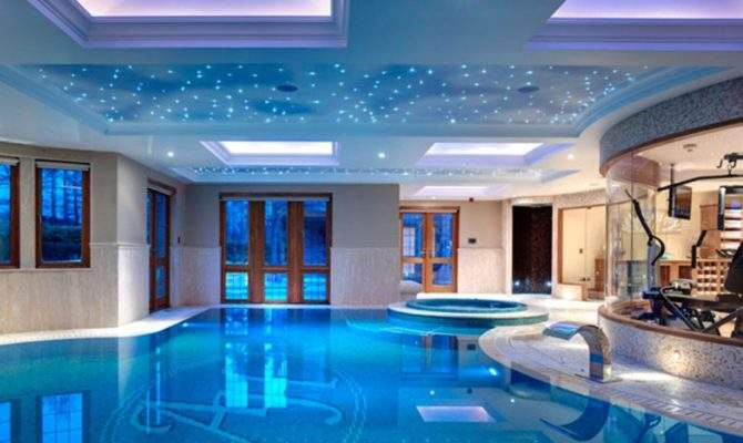 Luxury Swimming Pool Ultra Modern House Villa