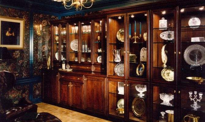 Luxury Wooden Classic Style Custom Home Libraries Design Ideas