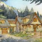 Madson Design House Plans Storybook Mountain Cabin
