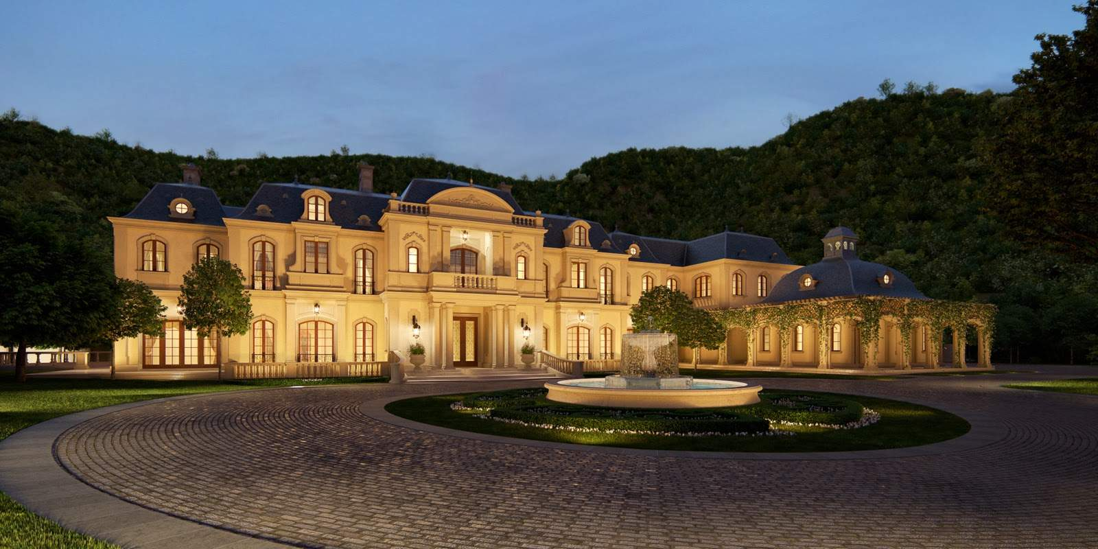 Mark Wahlberg Square Foot Beverly Park Mega Mansion