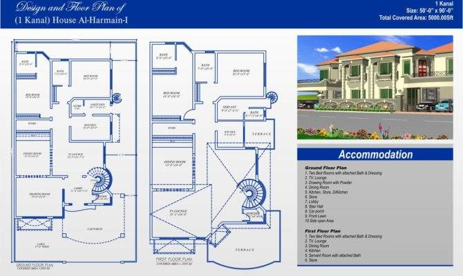 Marla House Map Lahore Defence Email Blogthis