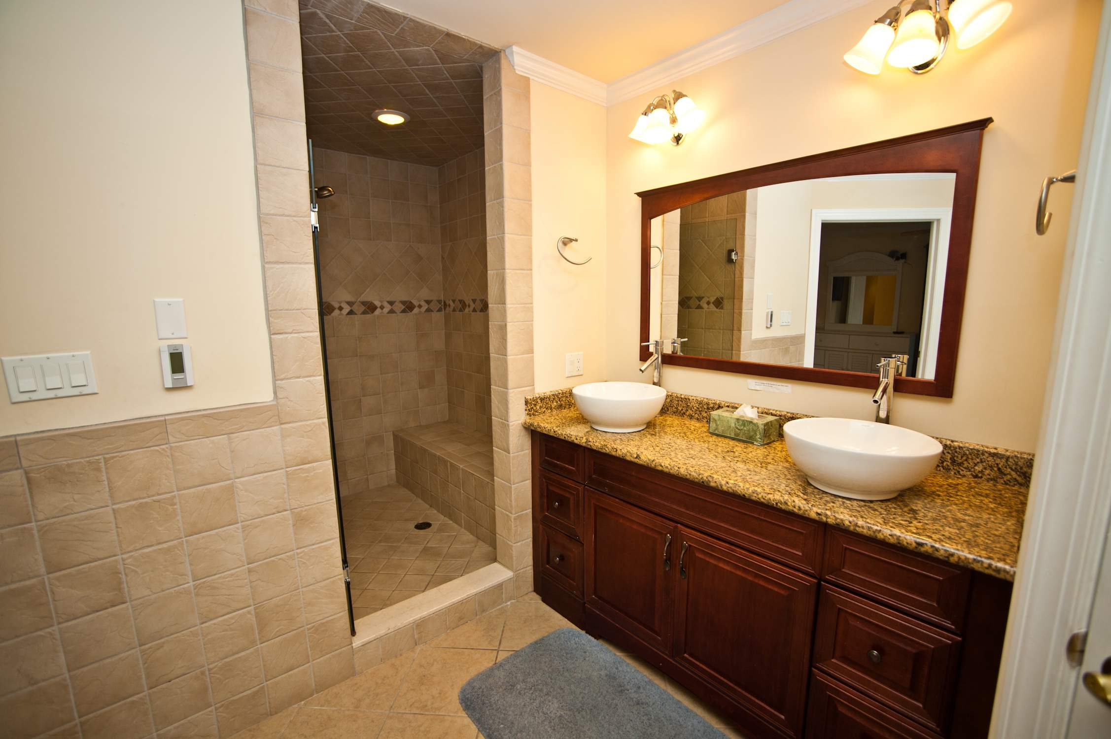 Master Bath Large Jacuzzi Tub Perfect