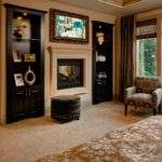 Master Bedroom Fireplace Sitting Area