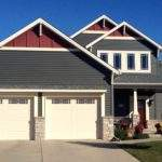 Mastic Quest Siding Misty Shadow Red Decorative Gables