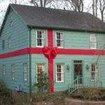 Michelle Spieler Our Christmas Present House