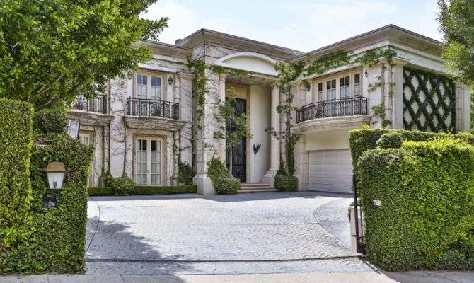 Million Neoclassical Mansion Beverly Hills