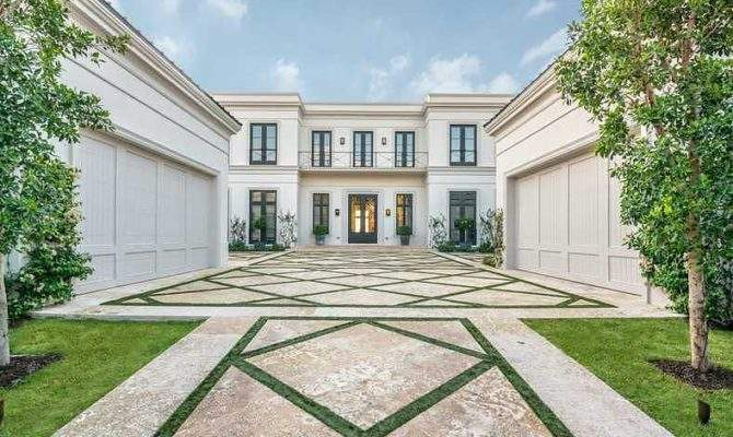 Million Newly Built Neoclassical Waterfront Mansion