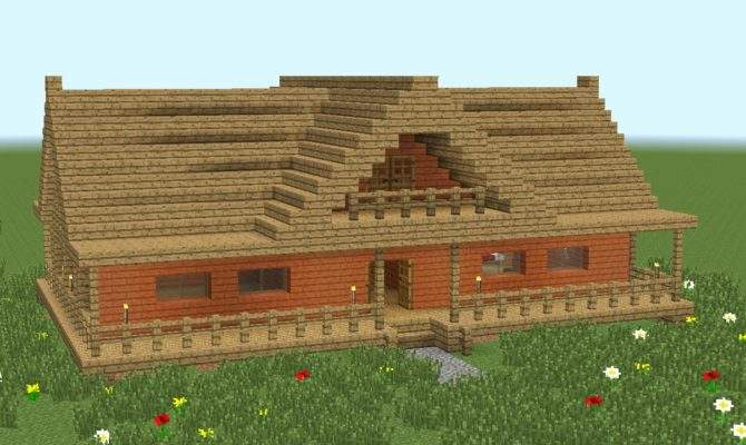 Minecraft Build Room Wooden House Youtube