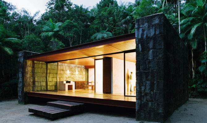 Minimal Design Weekend Home Rio Bonito House Carla Jua Aba