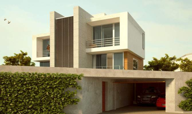 Minimalist Ultra Modern House Plans Design