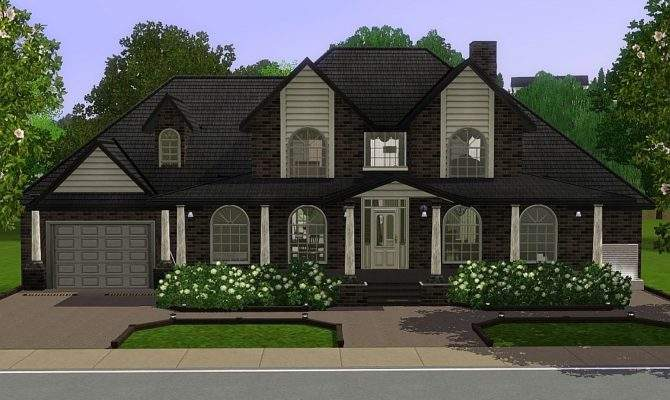 Mod Sims Brown Sugar Generation House