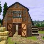Mod Sims French Country Farm House