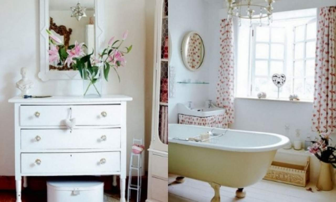 Model Bathroom Decorating Style Cottage Home Appliance Repair