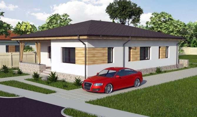 Modern Bungalow House Designs Floor Plans