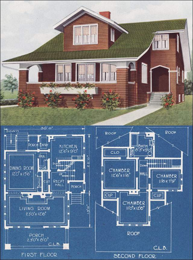 Modern Bungalow Type House Bowes American