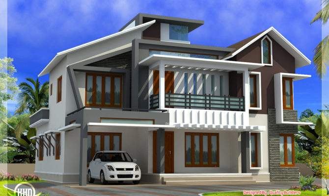 Modern Contemporary Home Feet Kerala