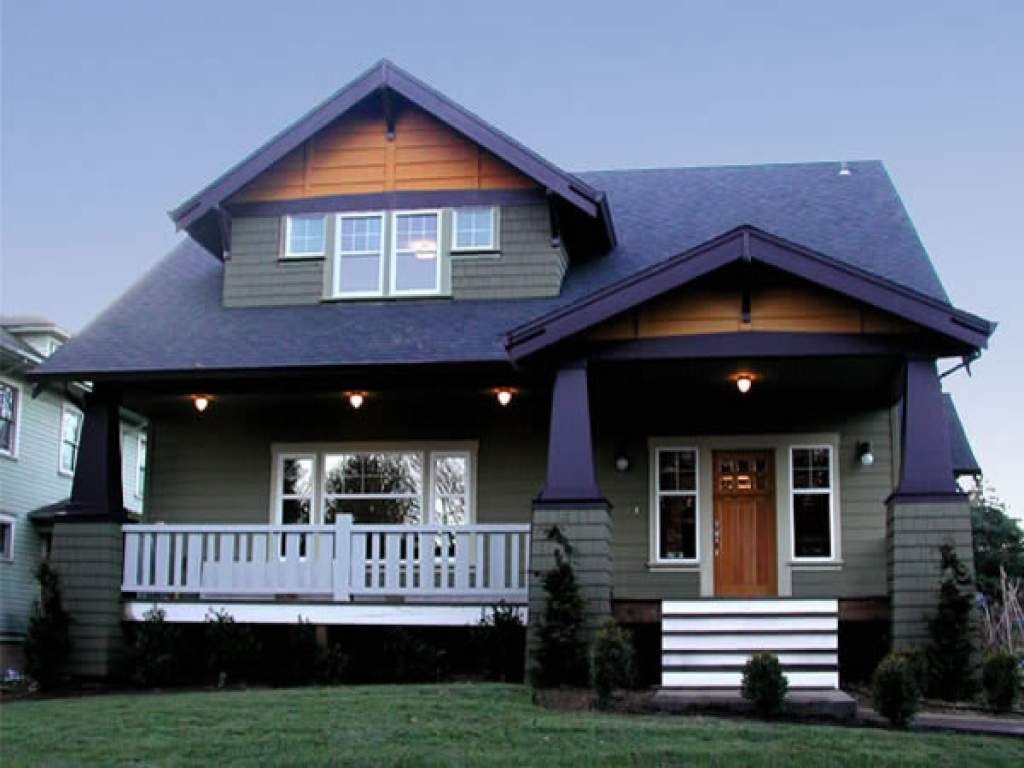 Modern Craftsman Style Home Plans Small House