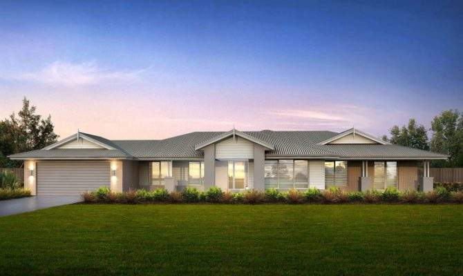 Modern Homestead Southern Vale Homes Inexpensive Home