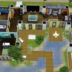 Modern House Floor Plans Sims One Story Plan After