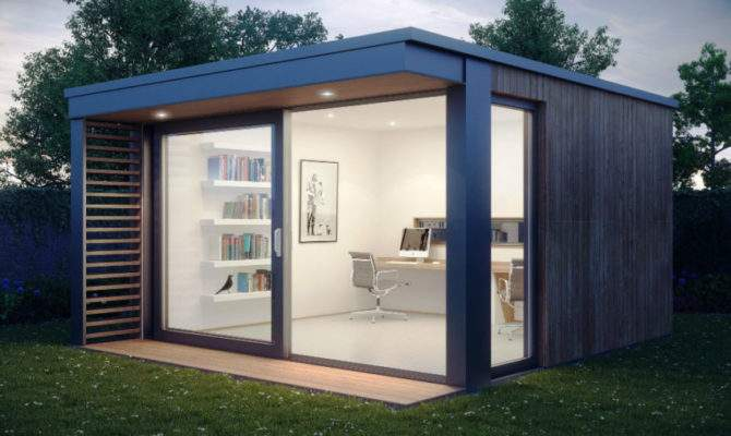 Modern Outdoor Home Office Sheds Wouldn Want Leave