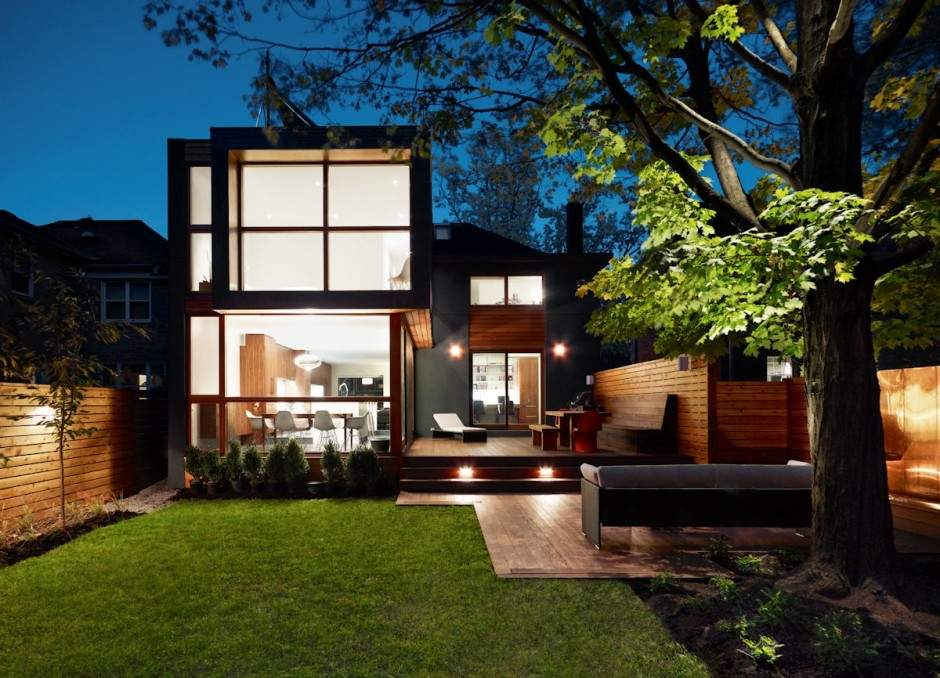 Modern Residential Project Post War House Converted Into