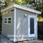 Modern Shed Build Icreatables Plans Youtube