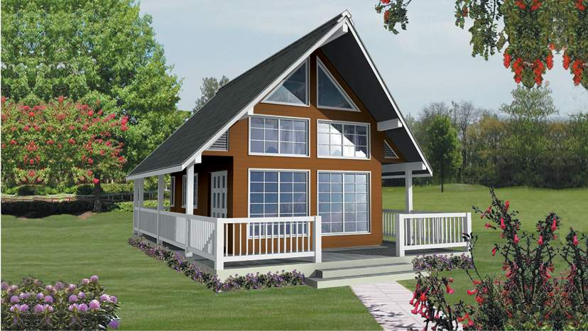 Modified Frame House Plans Designs