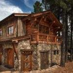 Mountain Contemporary Home Surrounded Ponderosa Pine