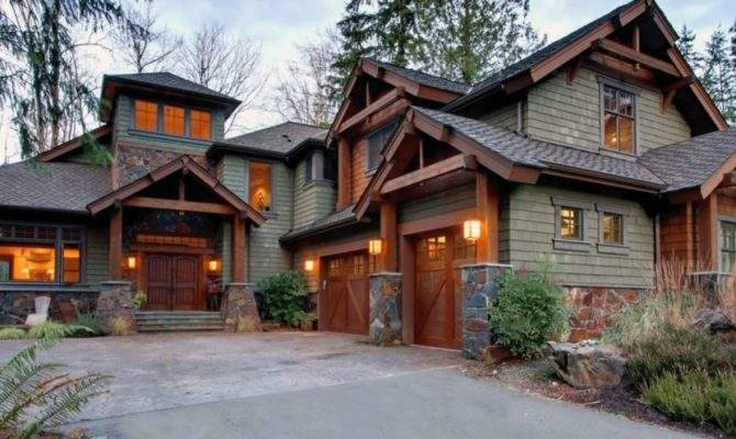 Mountain Home House Plans Awesome Craftsman Style Rustic