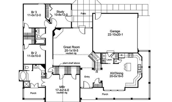 Mountain Home Plan First Floor House Plans More
