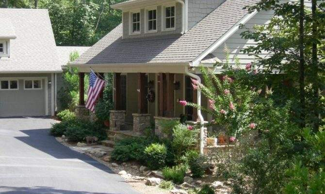 Mountain Style Home Has Detached Garage Breezeway