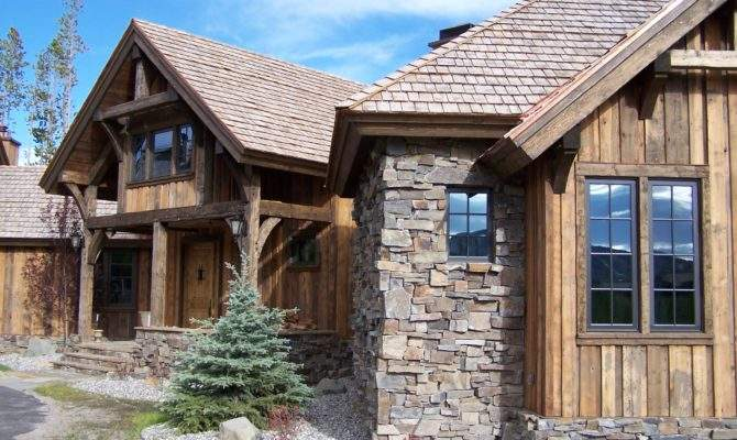 Mountain Style Timber Frame Home Alpine Log Homes
