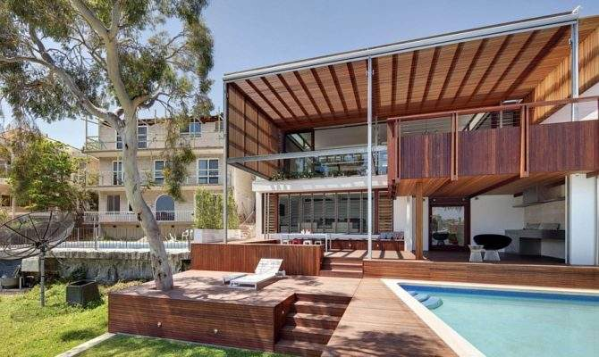 Multi Level Home Opens Into Backyard Gorgeous