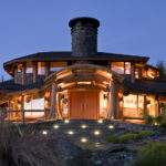 Murray Arnott Design Log Home Neighborhood