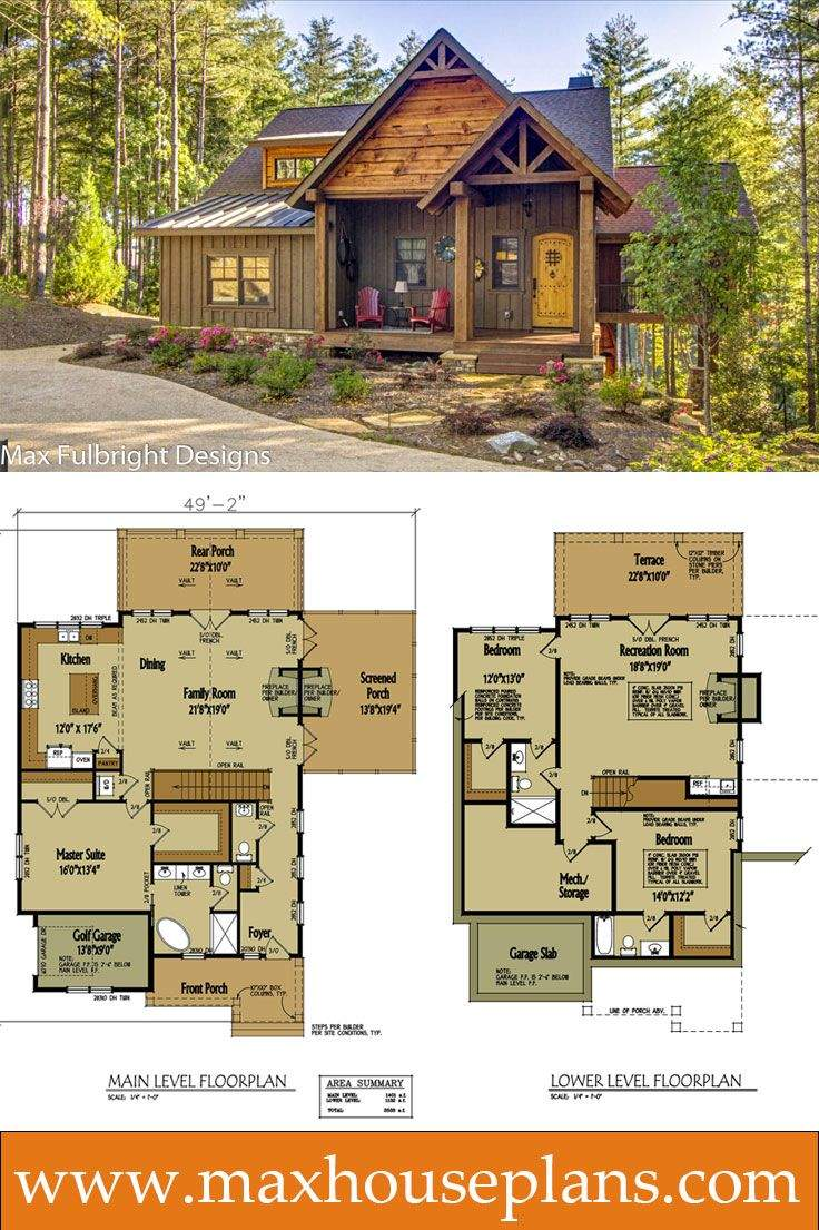 Must Lake House Plans Pins Small Houses Also Bedroom