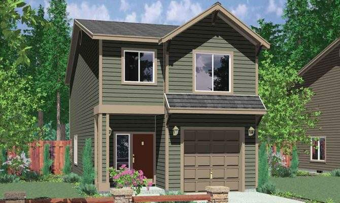 Narrow Lot House Plans Affordable Small Bedroom