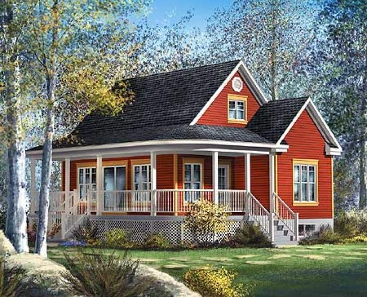 Narrow Lot House Plans Cottage Pin
