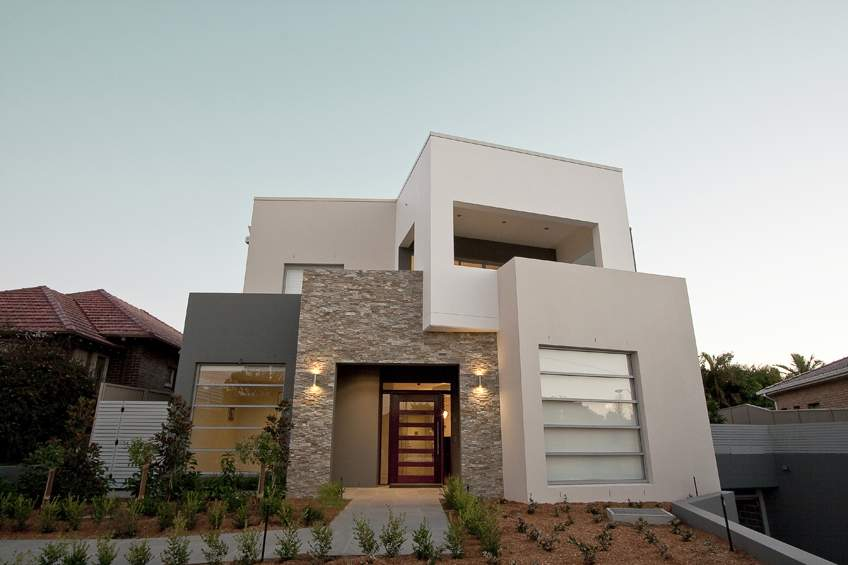 Natural Stone Facade House Exterior Inspirationseek