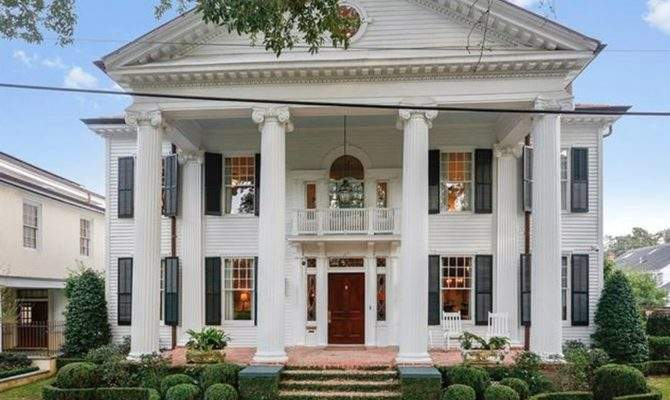 Neoclassical Revival Style Home New Orleans Louisiana