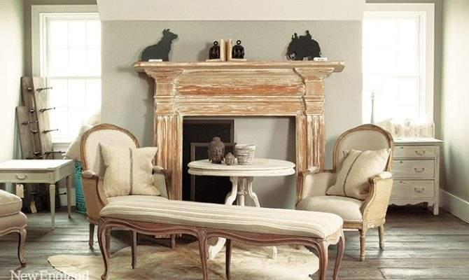 Neutral Palette Farmhouse French Accents Home Decorating