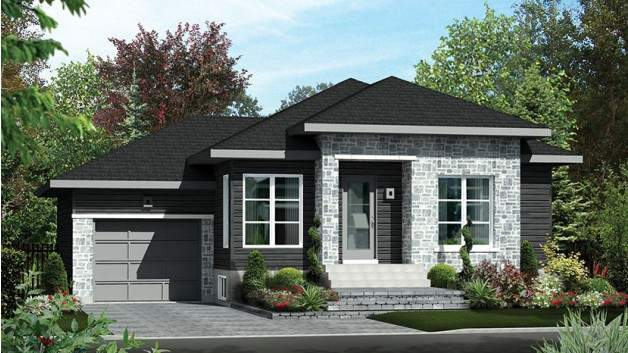 New American Style Houses Floor Plans Can