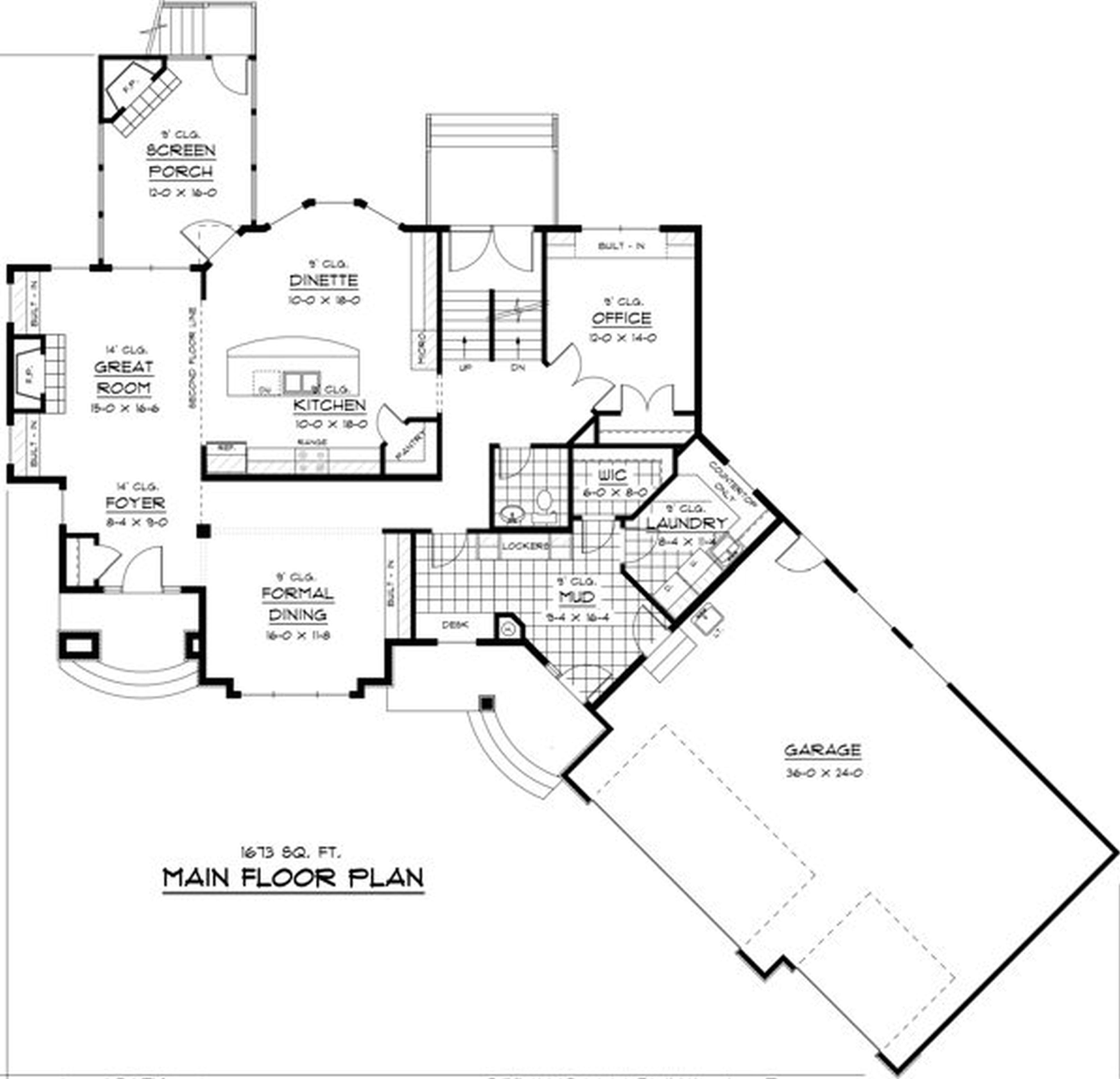 New Home Plans Open Concept Deco