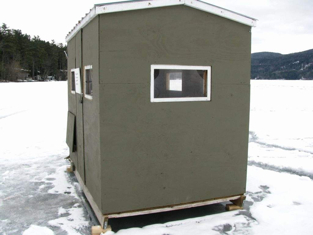 New Ice House Trailer Plans Floor