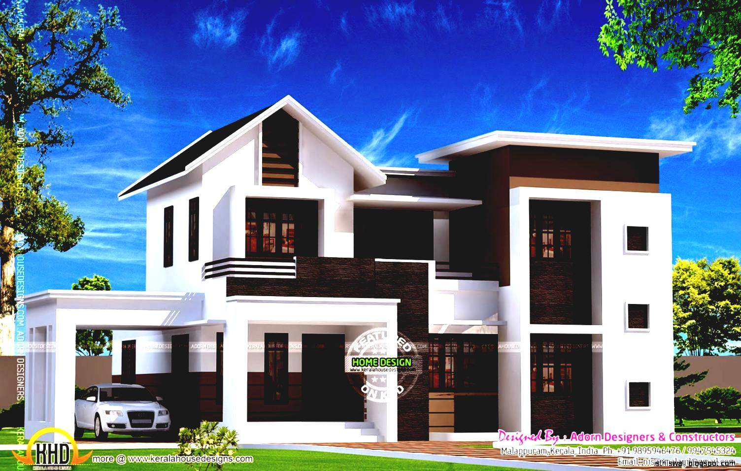 New Kerala Home Designs Awesome