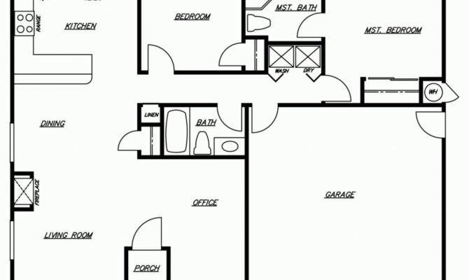 New Simple Floor Plans Homes Modern Rooms Colorful