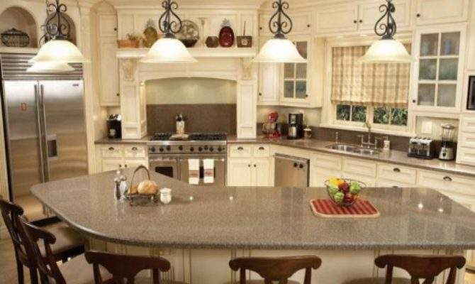 Nice Country Decor Cheap Kitchen Island Seating