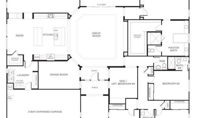 Nice Home Designs Single Story Floor Plans One